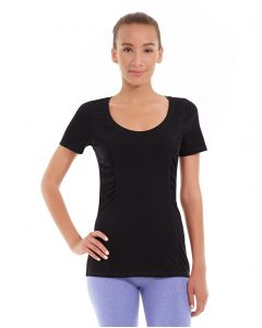 Juliana Short-Sleeve Tee-XS-Black